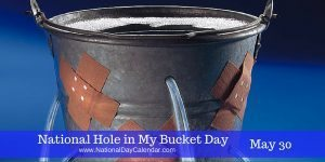 National Hole In My Bucket Day May 30