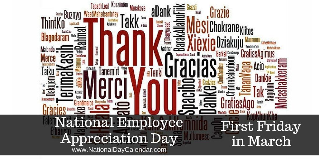 National Employee Appreciation Day!