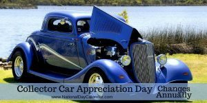 Collector Car Appreciation Day Changes Annually